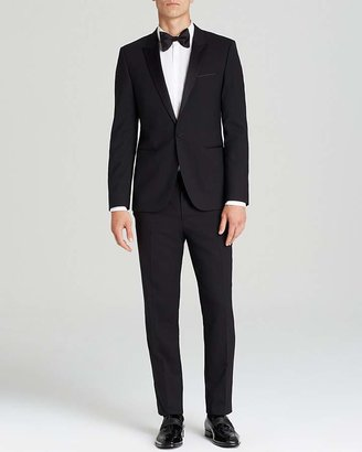 HUGO Aylor Herys Tuxedo - Slim Fit $895 thestylecure.com