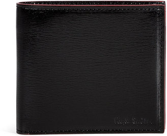 Paul Smith Black/Red Leather Wallet
