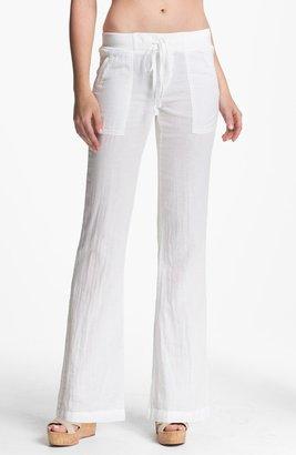 Splendid 'Hermosa' Drawstring Pants Womens Navy Size Medium Medium
