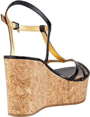 Kate Spade Theodora Cork Wedge Sandal