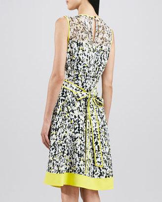 Kate Spade Semma Sleeveless Printed Dress