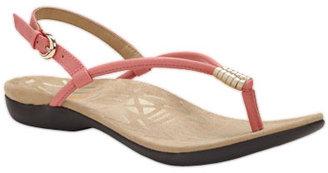 Dr. Weil integrative footwear accomplish sandal (coral / gold)
