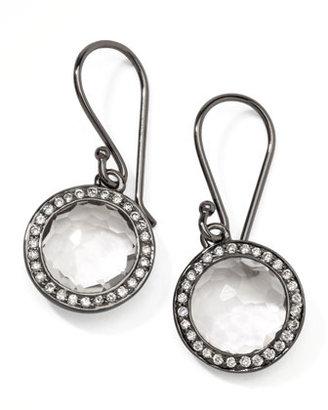 Ippolita Mini Lollipop Quartz Diamond Earrings