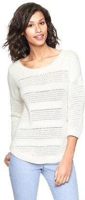 Gap Textural stripe sweater