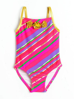 Flapdoodles Baby Girls 12-24 Months One-Piece Swimsuit