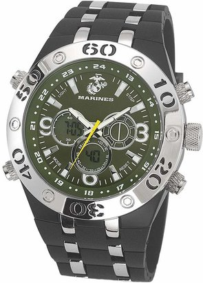 Green & Black Wrist Armor Men's U.S. Marine Corps C23 Green &Black Watch