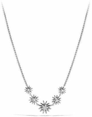 David Yurman Starburst Five-Station Necklace with Diamonds