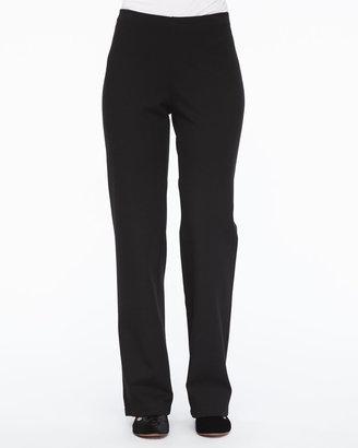 Eileen Fisher Straight-Leg Ponte Pants