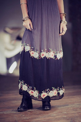 Free People Midnight in the Garden Maxi