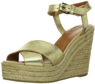 Marc by Marc Jacobs Women's Ankle Strap Open-Toe Espadrille Wedge Sandal