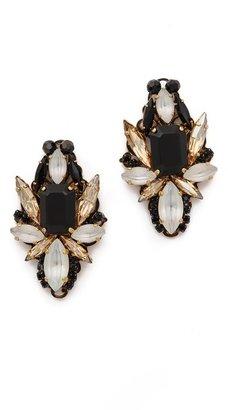 Erickson Beamon Girls On Film Crystal Statement Earrings