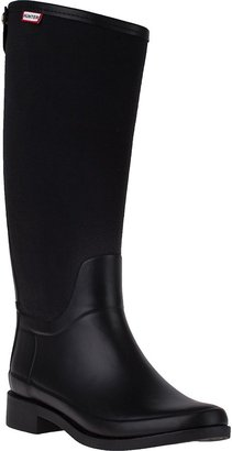 Hunter Bessy Rain Boot Black Rubber