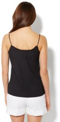 New York & Co. Lace-Front Camisole