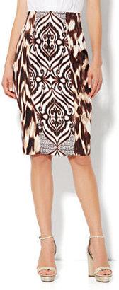 New York & Co. Eva Mendes Collection - Emma Pencil Skirt - Printed