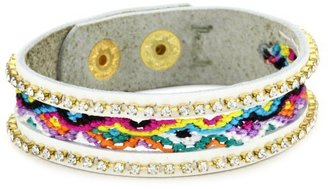 Presh Single Multi Color Friendship Leather Bracelet