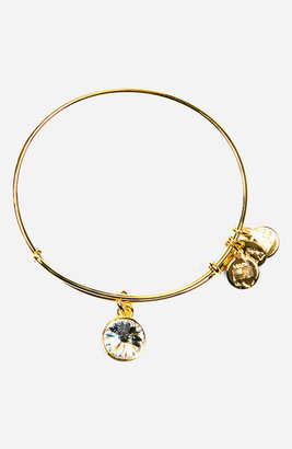 Women's Alex And Ani Birthstone Expandable Wire Bangle $28 thestylecure.com
