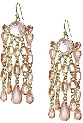 Banana Republic Pink sparkle drop earring