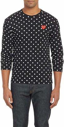 Comme des Garcons Men's Polka Dot Long-Sleeve T-shirt