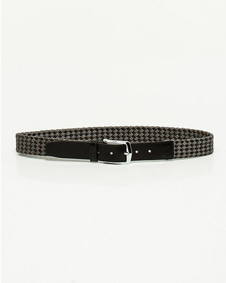 Le Château Braided Leather Belt
