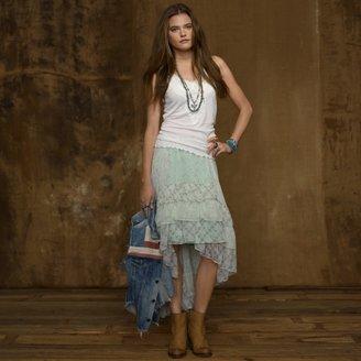 Denim & Supply Ralph Lauren Ruffled Wrap Skirt
