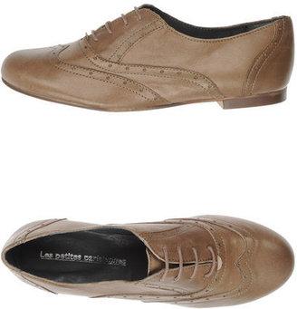 Les Petites Parisiennes Lace-up shoes