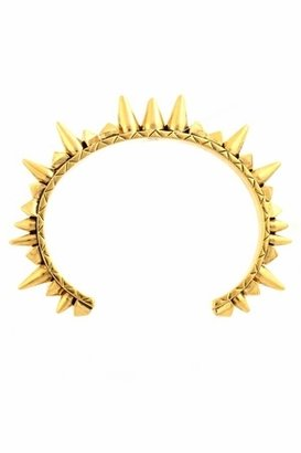 House Of Harlow Spike Cone Cuff in Yellow Gold