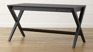 "Crate & Barrel Spotlight Ebony 58"" Desk"