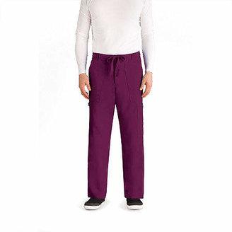 Barco Grey's Anatomy 0203 Men's Utility 6 Pocket Drawstring Scrub Pants