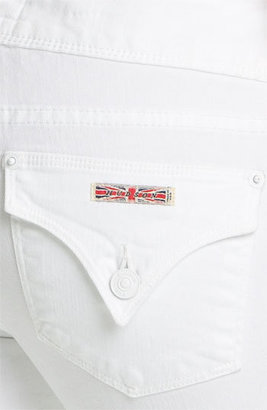 Hudson 'Beth' Baby Bootcut Jeans (White)