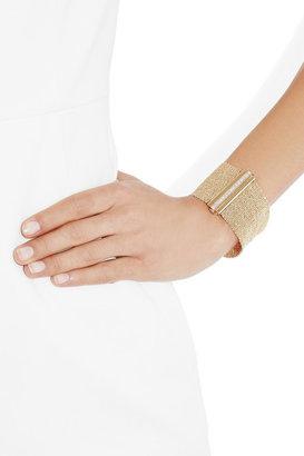 Carolina Bucci Woven 18-karat gold diamond cuff