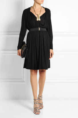 Lanvin Pleated jersey dress