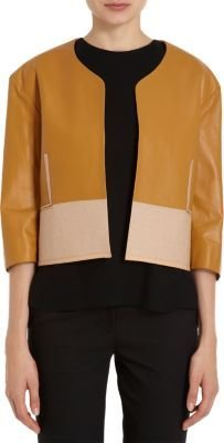 Chloé Contrast Bottom Panel Short Jacket