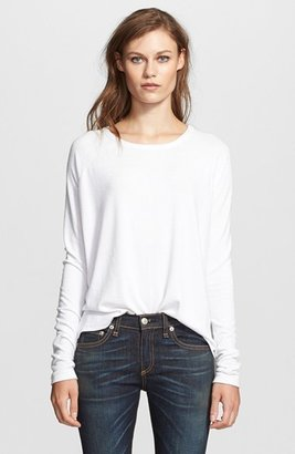 Women's Rag & Bone/jean 'Camden' Long Sleeve Top $150 thestylecure.com