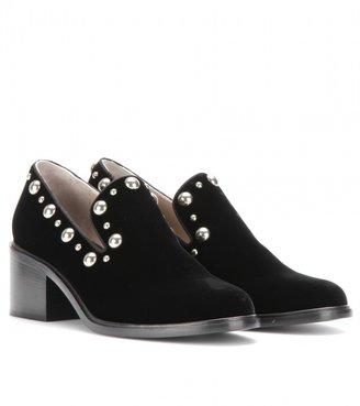 Marc Jacobs Studded velvet loafers