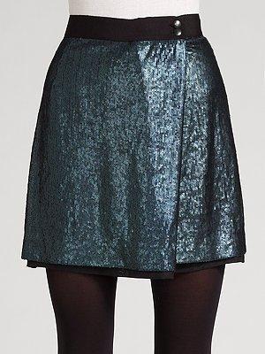 Zyrtec Robert Rodriguez Sequin Skirt
