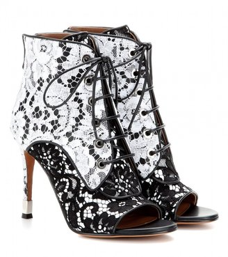 Givenchy Lace ankle boots