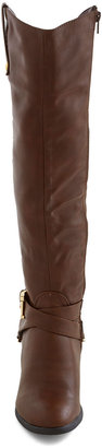 Fall Foal-iage Boot in Brown