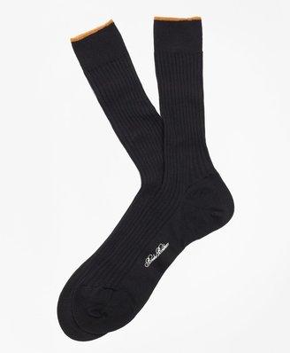 Brooks Brothers Merino Wool Sized Crew Socks