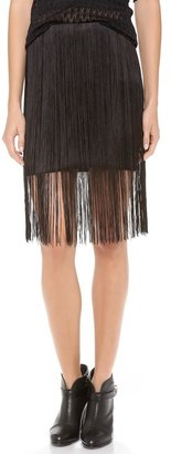 Rag and Bone Rag & Bone Corina Fringe Skirt