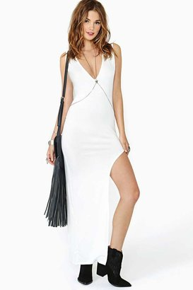 Nasty Gal Bright Curve Maxi Dress