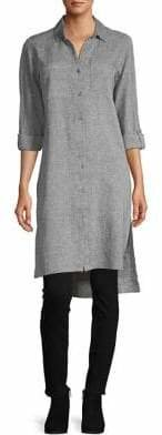 Jones New York Crossover Linen Blend Tunic