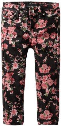 Baby Phat Kids Girls 2-6X Floral Print Twill Jean