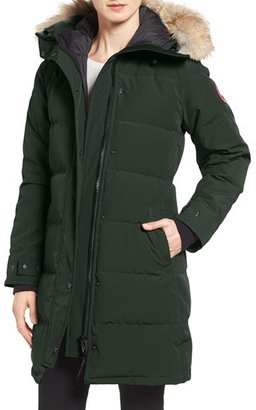 Women's Canada Goose Shelburne Genuine Coyote Fur Trim Down Parka $925 thestylecure.com