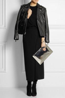 Theory Wool-blend maxi dress
