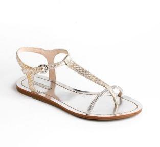 LOUISE ET CIE Ellia Embellished Leather Sandals