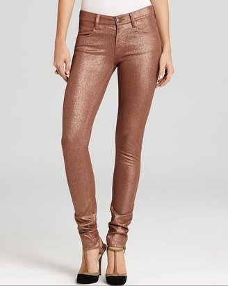 French Connection Pants - Xmas Metallic Lilly Skinny