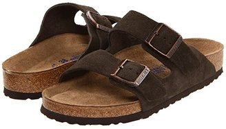 Birkenstock Arizona Soft Footbed - Suede (Unisex) (Mocha Suede) Sandals