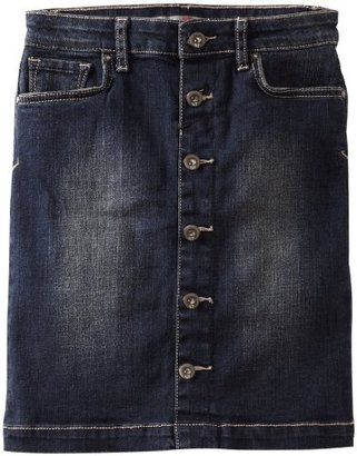 IT Jeans !it Jeans Girls 7-16 Button Front Skirt