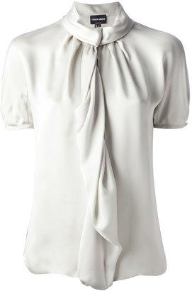 Giorgio Armani short sleeve blouse