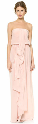 Zimmermann Strapless Draped Maxi Dress $350 thestylecure.com